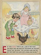 """ALPHABET BOOK. """"E is for Eggs."""""""