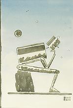R.O. BLECHMAN. Robot (á la Rodin).
