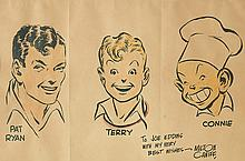 MILTON CANIFF. Terry and the Pirates.