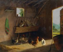CHARLES HENRY MILLER The Chicken Coop.