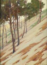 ROY HENRY BROWN Hillside Shadows.