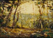 RALPH ALBERT BLAKELOCK Wood's Edge.