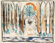 JOSEPH STELLA Forest Cathedral.