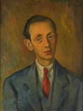 KARL SCHRAG Portrait of Lucien Goldschmidt.