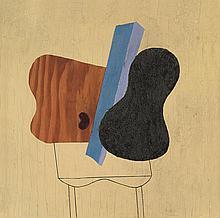 ALBERT EUGENE GALLATIN No. 15 (Abstract Composition).