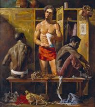 JOSEPH SHEPPARD Mens Locker Room.