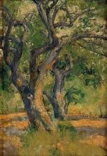 PAUL CADMUS Apple Trees.