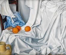 JARED FRENCH Still Life with Oranges.