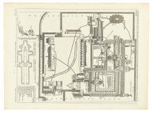 (CANTERBURY CATHEDRAL.) Vertue, G[eorge]. Ecclesiae Cathedralis et Priooratus Benedictinorum Cantuariae facis Borealis.