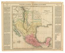 CAREY & LEA. Geographical, Statistical, and Historical Map of Mexico.