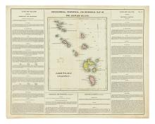 (CARIBBEAN.) Carey & Lea. Geographical, Statistical. . . Leeward Islands. * Geographical, Statistical. . . The Windward Islands.