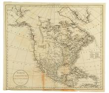 RUSSELL, JOHN. North America, Drawn from the Best Authorities.