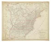 (UNITED STATES.) Schneider und Weigelschen. Die Vereinigten Staaten von Nordamerika nach Ebelings Beschreibung,