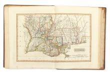 LUCAS Jr., FIELDING. A New and Elegant General Atlas Containing Maps of each of the United States.