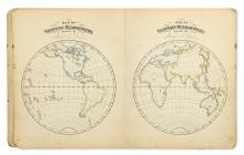 (MANUSCRIPT MAPS.) Southerland, D. L. Southerland's Mapping Book, Adapted to the Maps in