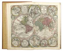 SEUTTER, MATTHAEUS. Atlas Novus Indicibus Instructus, Oder Neuer Mit Wort-Registern Versehener. . .