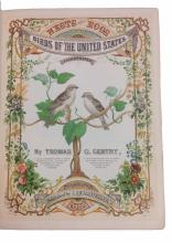 (BIRDS.) Gentry, Thomas G. Nests and Eggs of Birds of the United States.