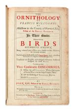 (BIRDS.) Willughby, Francis. The Ornithology of Francis Willughby. . . In Three Books. Wherein All the Birds Hitherto Known. . .