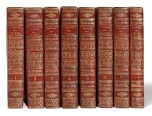 (BOTANICAL.) Poiret, J. L. M. Histoire philosophique, littéraire, économique des plantes de l'Europe.