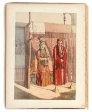 (COSTUME.) Van-Lennep, H. J. The Oriental Album: Twenty Illustrations in Oil Colours of the People and Scenery of Turkey,