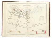 (MANUSCRIPT MAPS & DRAWINGS.) FESTUGIÈRE. 1856-1858. [Cover title.]
