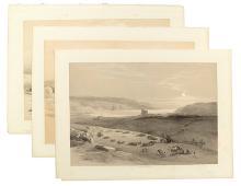 (HOLY LAND.) Roberts, David. Island of Graia, Gulf of Akabah * Jericho * Suez.