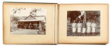 (FIJI--EARLY PHOTOGRAPHS.) An album containing 54 photographs,