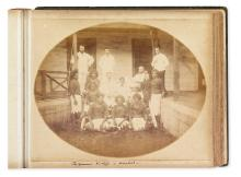 (FIJI--EARLY PHOTOGRAPHS.) [Views taken in Fiji 1887-88 / C.B.H.M being Governor of Fiji and High Commissioner of Western Pacific.]