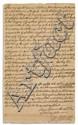 JOHNSON, WILLIAM; SIR. Document Signed,