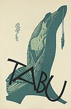 JULIUS KLINGER (1876-1942). TABU. 1919. 33x21 inches, 85x55 cm. Christoph Reisser, Vienna.