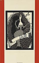 JULIUS KLINGER (1876-1942). TABU / ANTI - NICOTIN / CIGARETTENHULSEN / CIGARETTENPAPIER. 1919. 33x20 inches, 84x52 cm. Christoph Reisse