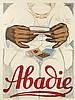 MIHALY BIRO (1886-1948). ABADIE. 1924. 49x37 inches, 125x94 cm. Abadie, Vienna.
