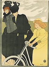 JOSEF MARIA AUCHENTALLER (1865-1949). [HCH. SCHOTT & DONNATH.] 1899. 47x35 inches, 121x89 cm. J. Weiner, Vienna.