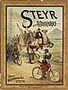DESIGNER UNKNOWN. STEYR WAFFENRAD. Circa 1900. 50x38 inches, 127x97 cm. Ritter & Kloeden, Nurnberg.