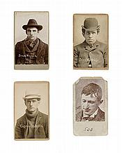 (CRIME) Gathering of 40 carte-de-visite-format mug shots from various Police Departments
