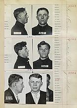 (CRIME) A San Francisco mugshot album with approximately 700 photographs and entries,