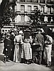 ATGET, EUGÈNE (1857-1927)/ABBOTT, BERENICE (1898-1991) Crowd at Parisian Glaces Vendor.