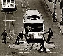 YAVNO, MAX (1911-1985) Cable car, San Francisco.