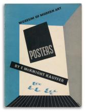 EDWARD MCKNIGHT KAUFFER (1890-1954). [MUSEUM OF MODERN ART]. Group of 9 exhibition catalogues. 1933-1942. Sizes vary.