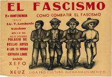VARIOUS ARTISTS. [MEXICAN PROPAGANDA.] Group of 4 posters. 1938-1952. Sizes vary. [Taller de Grafica Popular, Mexico City.]