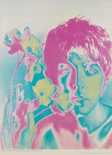 RICHARD AVEDON (1923-2004). THE BEATLES. 4 posters and banner. 1967. Sizes vary.
