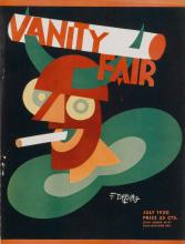 VARIOUS ARTISTS. VANITY FAIR. Group of 3 magazines. 1930-1935. Each 12x9 inches, 32x24 cm.