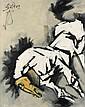 MAQBOOL FIDA HUSAIN Untitled (Horse).