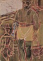 MARK TOBEY Two Figures.