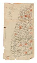 (VERMONT.) Allen, William. A Correct Map of Duncansborough agreeable to actual survey By Wm. Allen Esq. Surveyor.