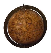 (GLOBES.) Senex, John. A New & Correct Glove of the Earth By J. Senex F.R.S.