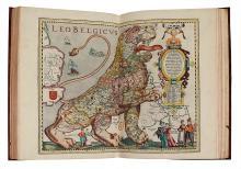 KEERE, PETER van den. Germania Inferior id est, XVII provinciarum ejus novae et exactae tabulae geographicae.