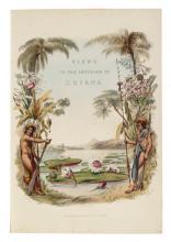 (GUYANA.) Schomburgk, Robert H. Twelve Views in the Interior of Guiana.