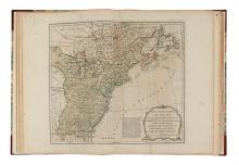 JEFFERYS, THOMAS; SAYER, R.; and BENNETT, J. The American Atlas, or a Geographical Description of the Whole Continent of America.