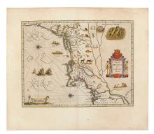BLAEU, WILLEM JANSZ. Nova Belgica et Anglia Nova.